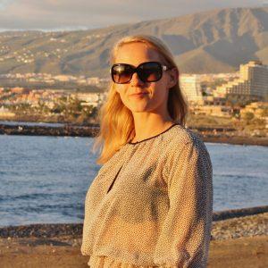 Anna Lech profile in Tenerife, Spain.