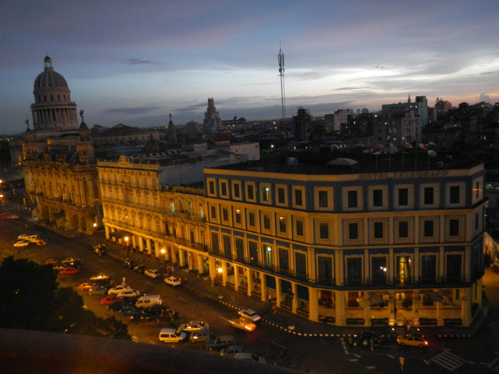 Early evening in Havana