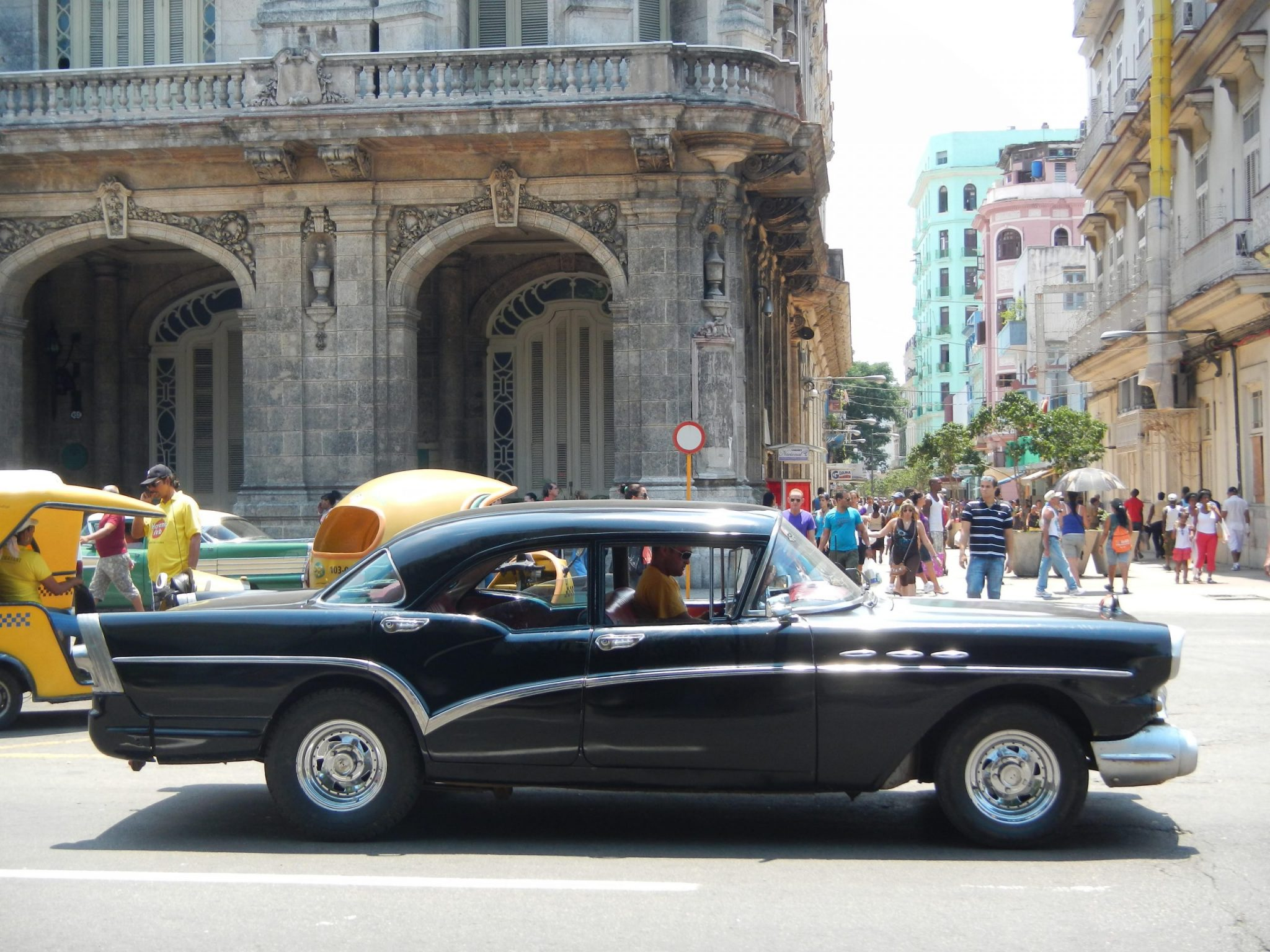 On the streets of Havana, where old cars prevail