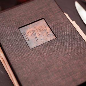 1919's menu.