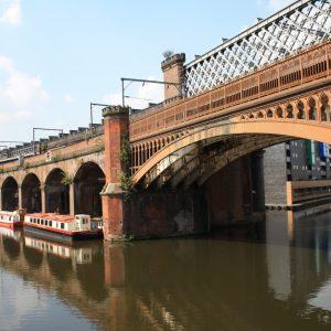 A bridge in Manchester.