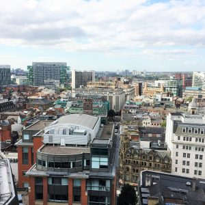 The city from above: Manchester, UK 2006, after Anna's relocation