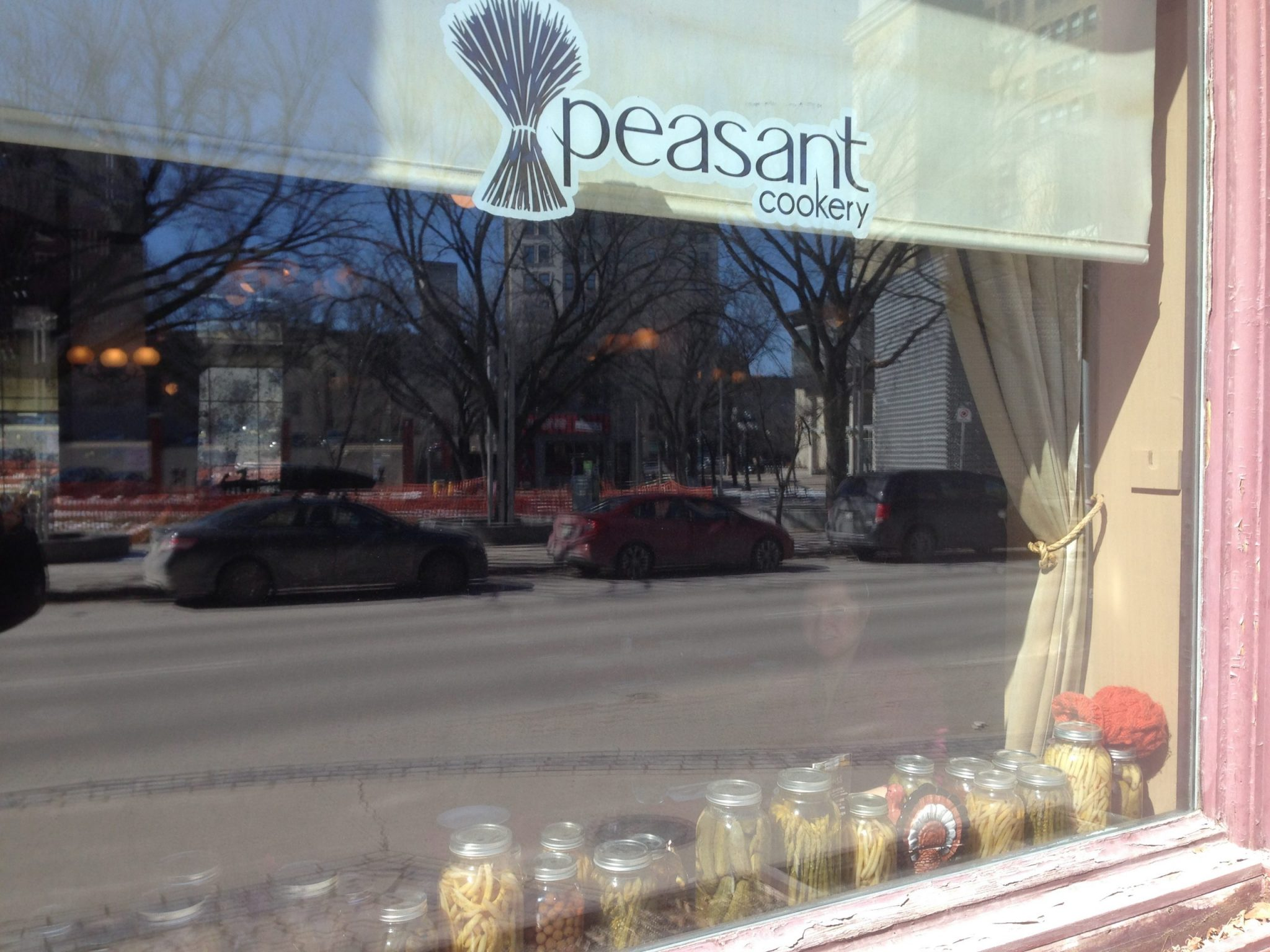 For a tasty bite to eat and one of the best things to do in Winnipeg, visit Peasant Cookery