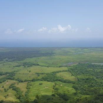 Aerial views from Montaña Redonda.