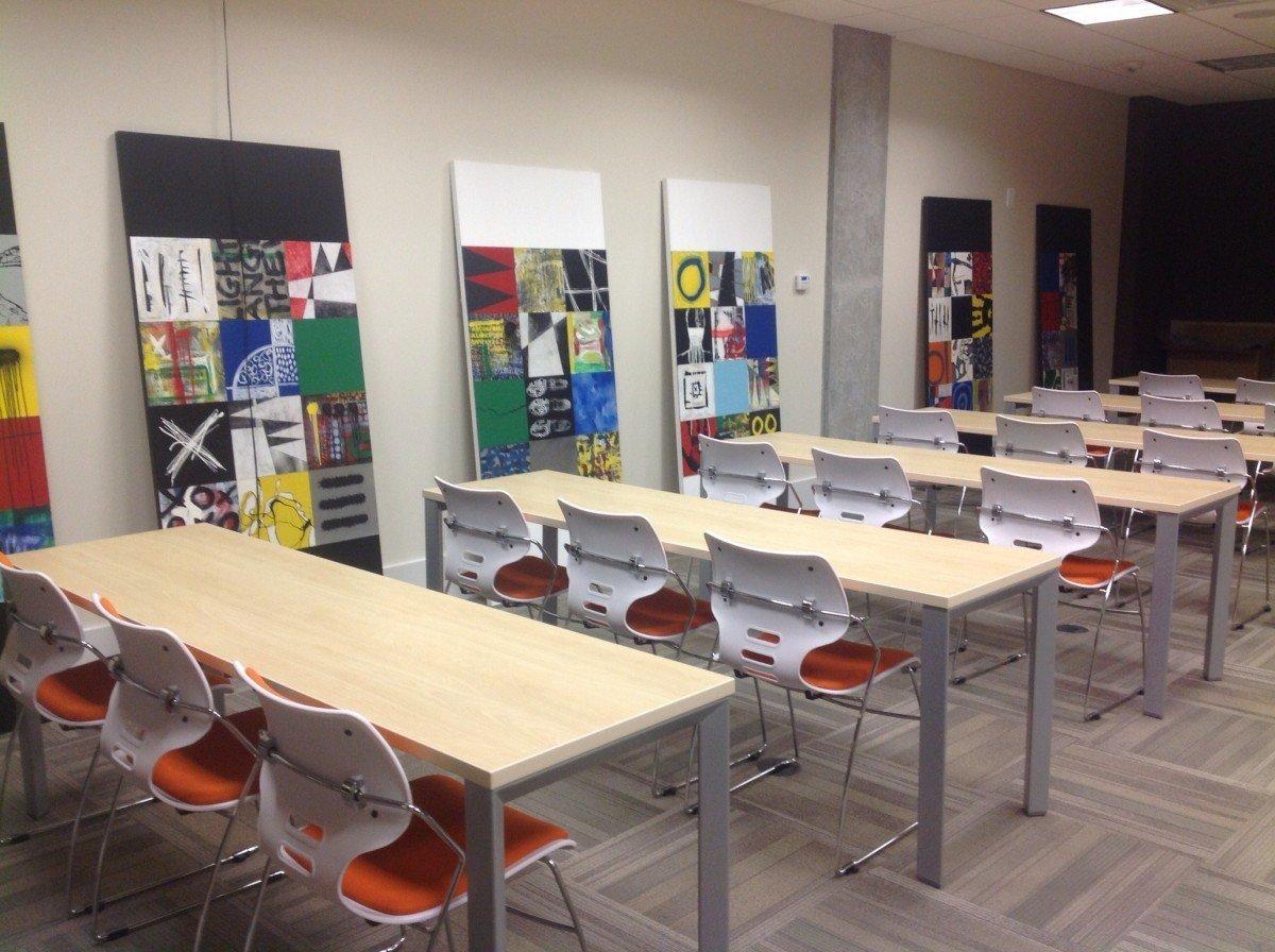school teaching studying classroom-spain