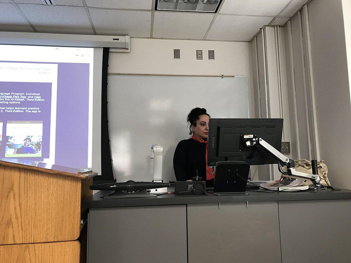 Teaching in the USA: Wasan Tawfeeq
