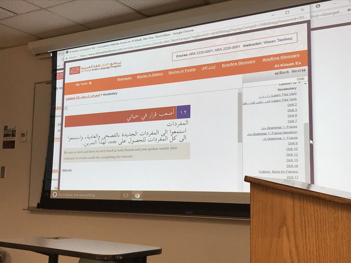 Teaching and Studying in the USA: Wasan Tawfeeq