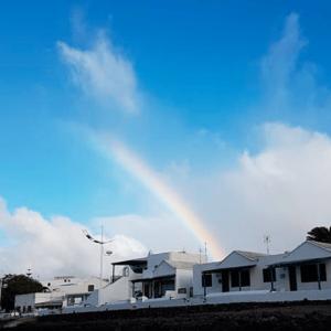 Rainbow in Lanzarote, Spain