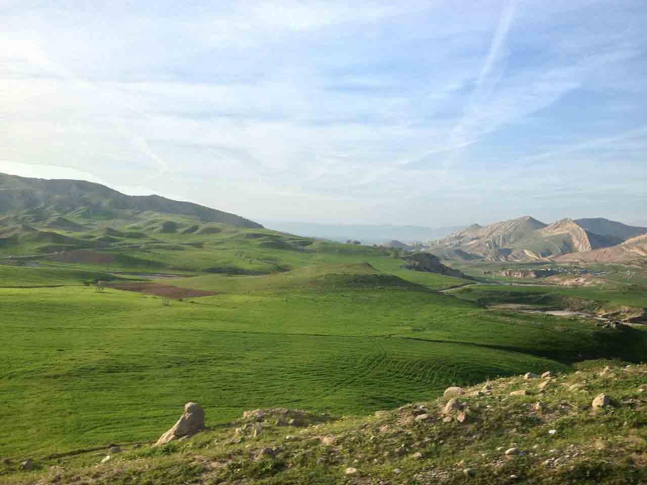 Kurdistan Iraq rolling hills