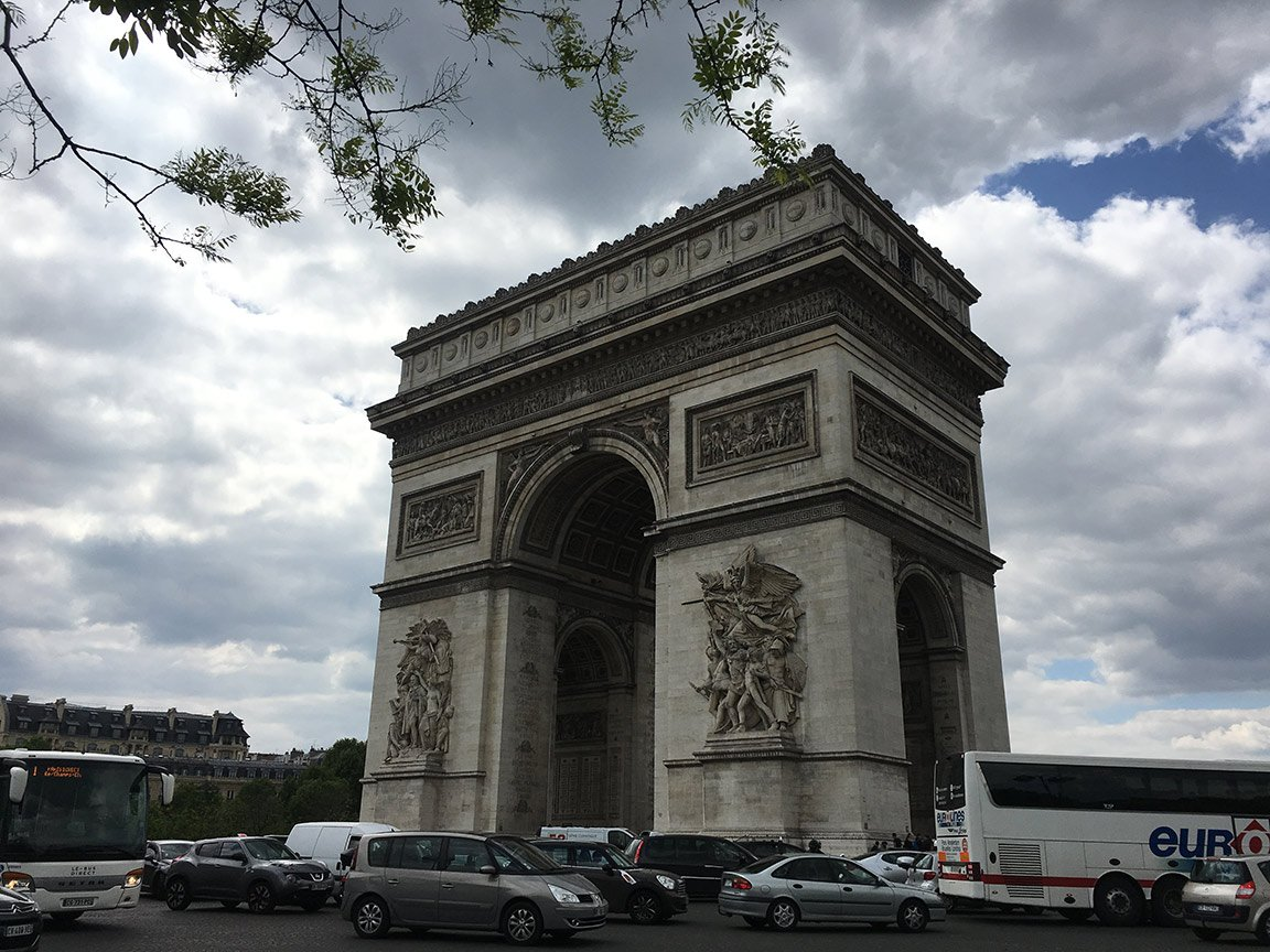 Arc-de-Triomphe-Trip-to-Paris-France