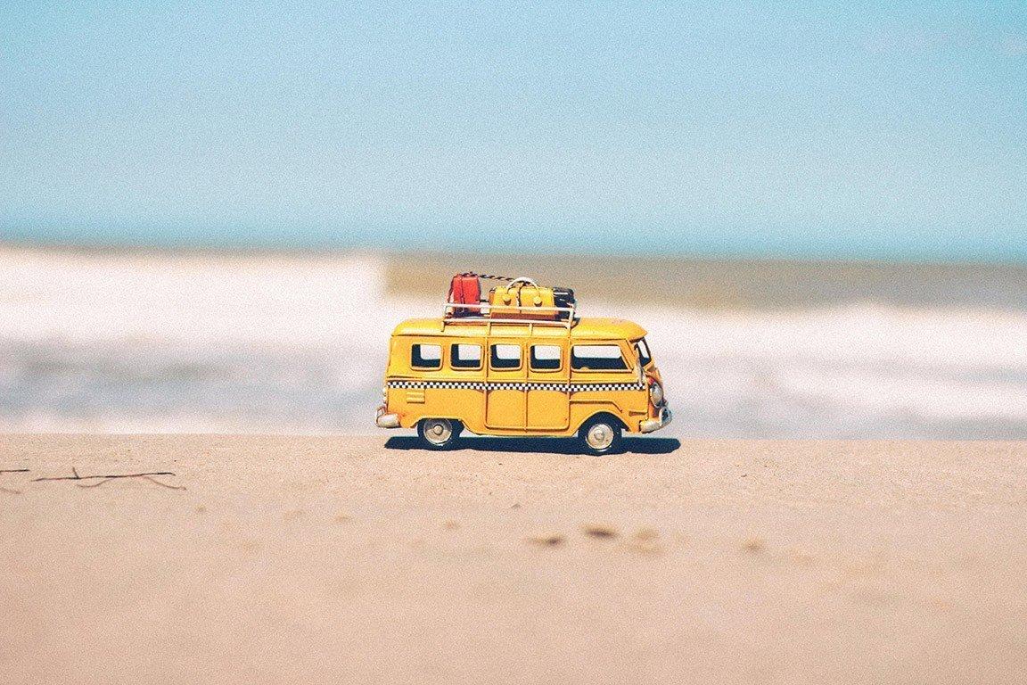 adventure beach Summer vacations travel survey abroad beach van water