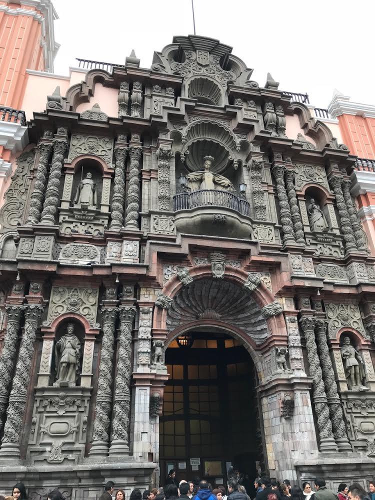 Peru lima food travel abroad tour downtown peru tour