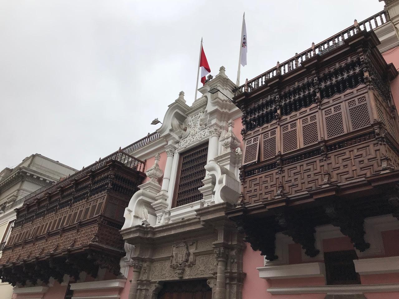 Peru lima town food travel abroad tour downtown peru
