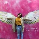 studying abroad seoul south korea street art wings