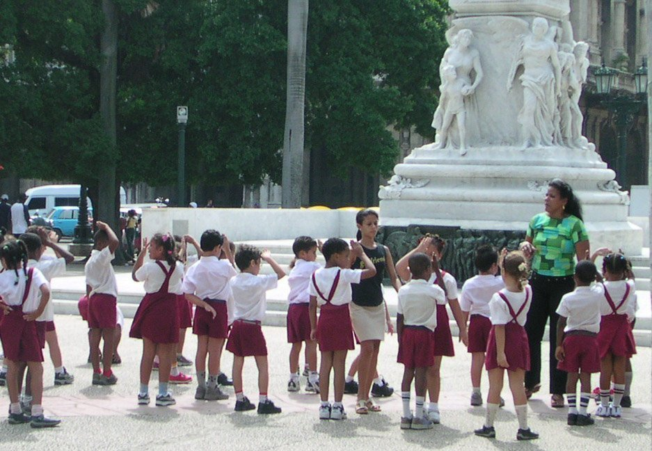 teaching abroad tips questions back to school tips first day cuban students