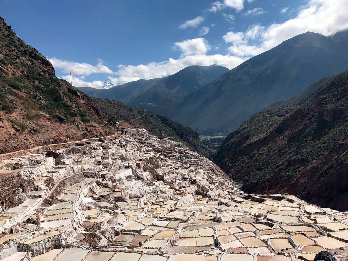 traveling peru salt flats valley excursion mountains