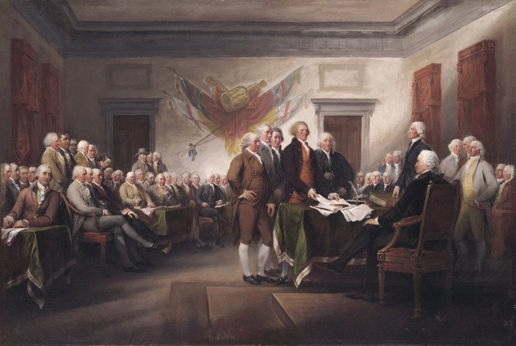 american dream painting declaration of independence