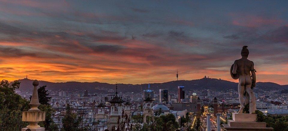 barcelona sunset teach abroad alex warhall