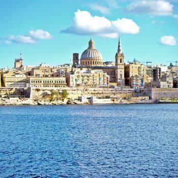 valletta mediterranean capital malta city ocean