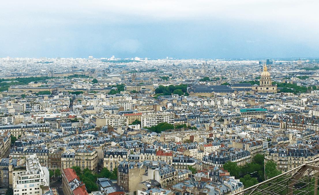 beautiful day paris france photo city scape travel tales