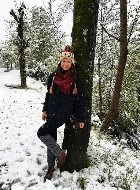 traveling college michelle futo dream abroad snow
