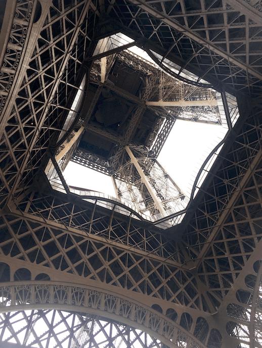 under eiffel tower travel blog france