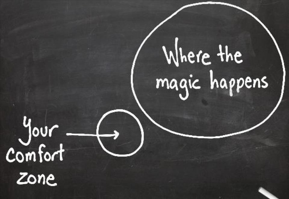 quote where the magic happens