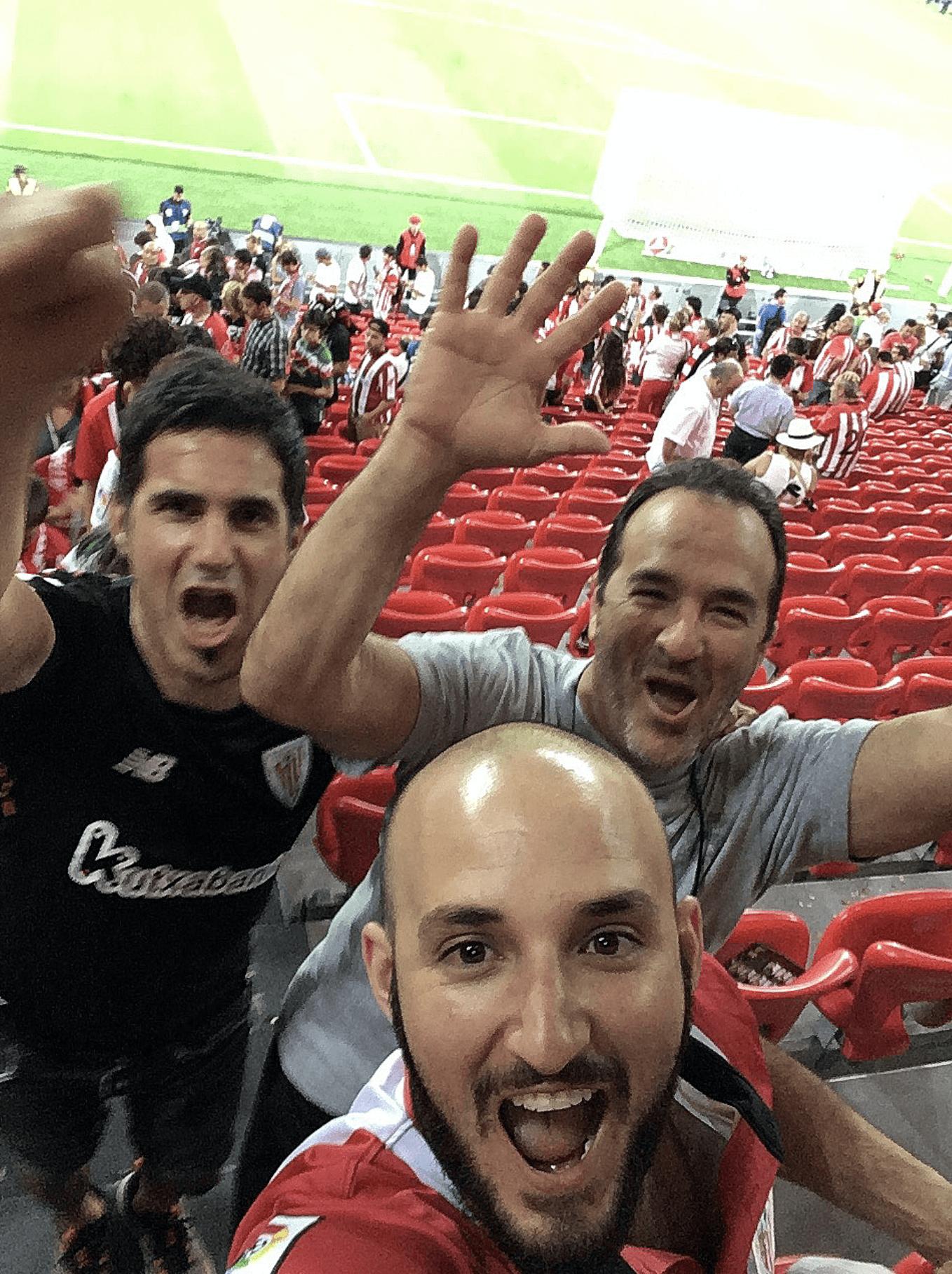 ryan gomez at soccer game