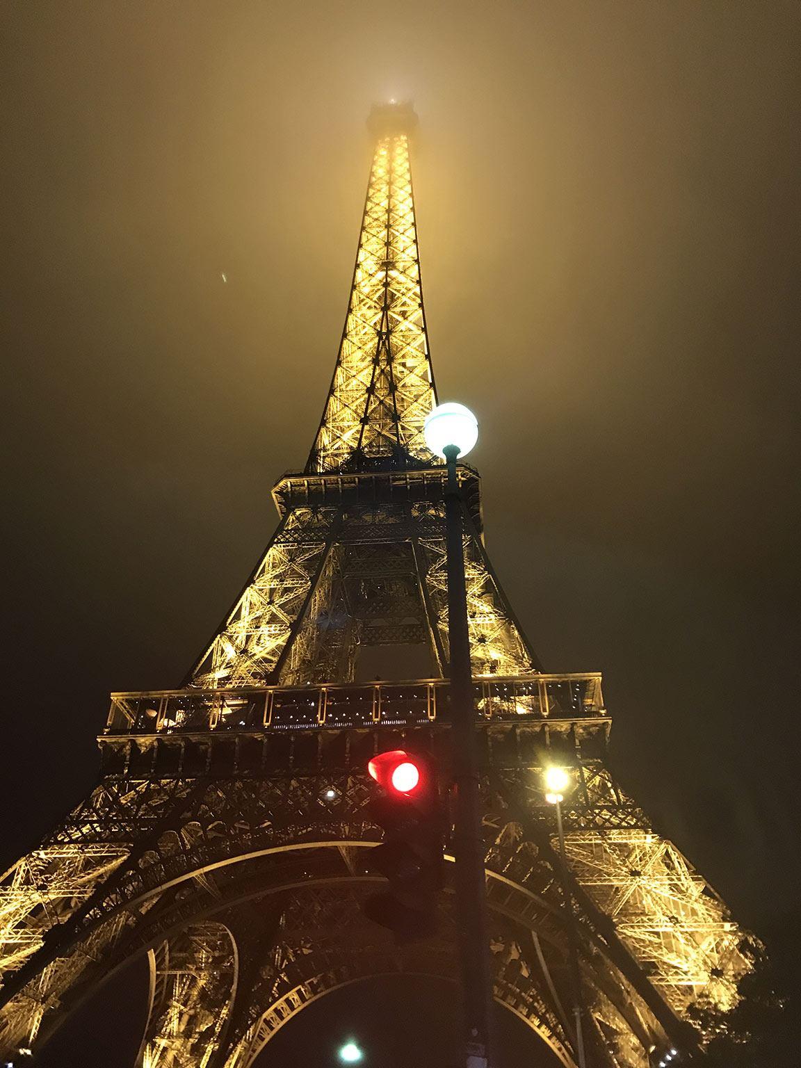 night tour eiffel tower