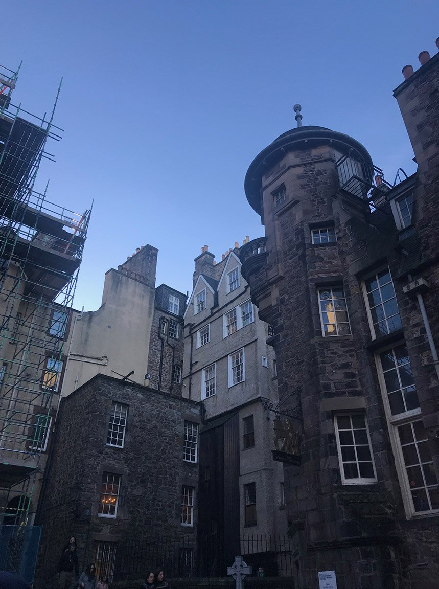 historic Scotland city