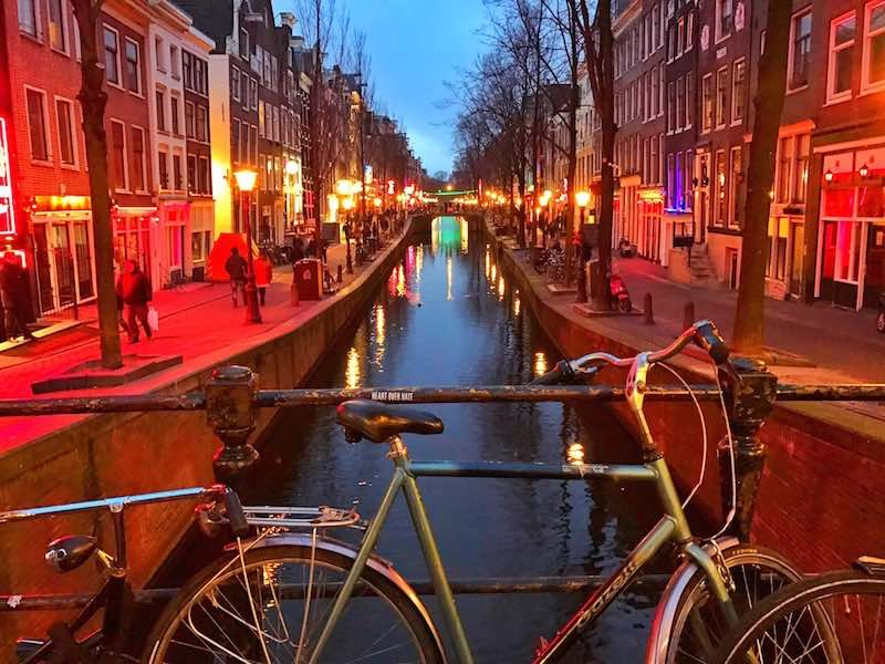 Alleys Red Light District