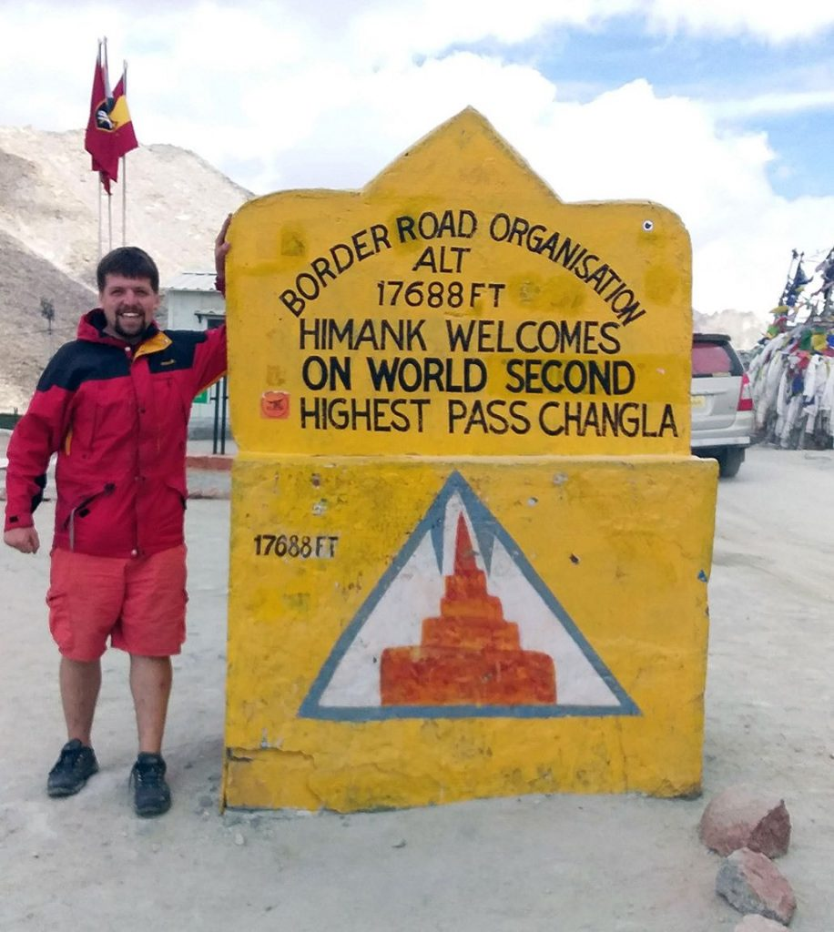 Himank Border Roads Organisation (BRO) in the Ladakh