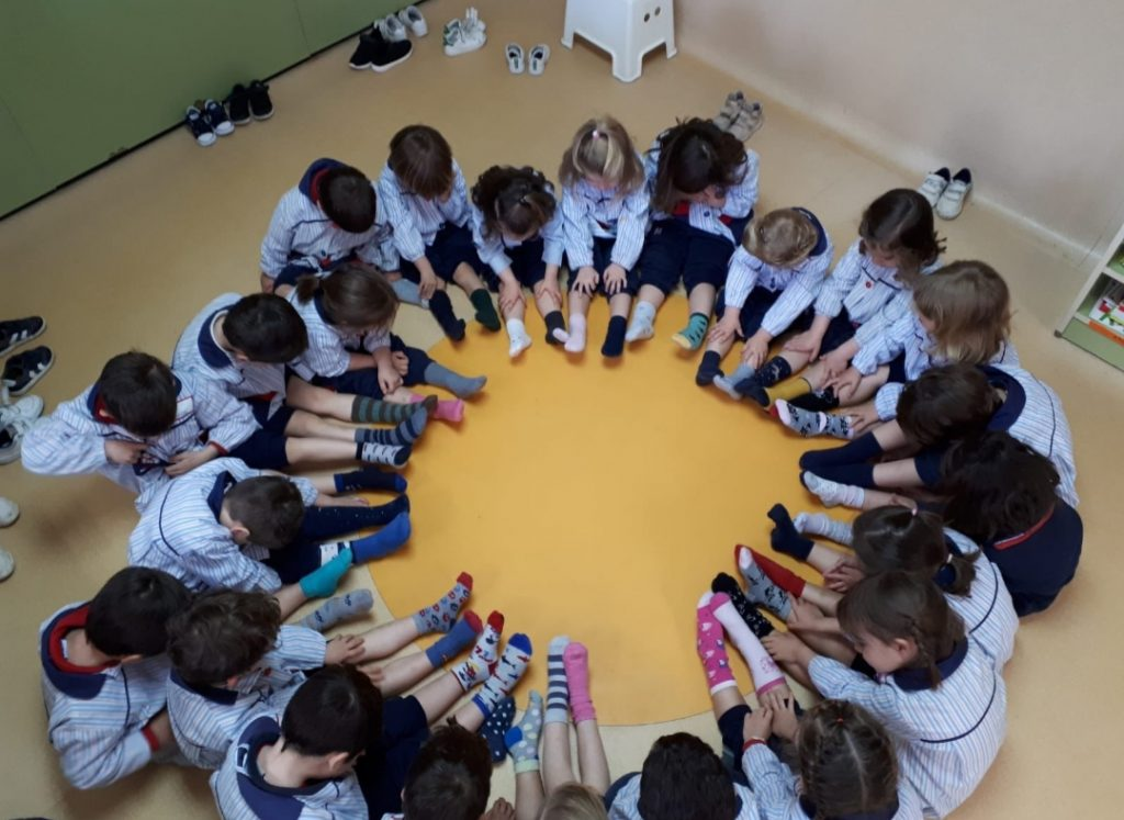Students in a circle