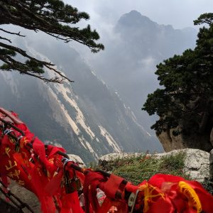 Mount Hua in China.