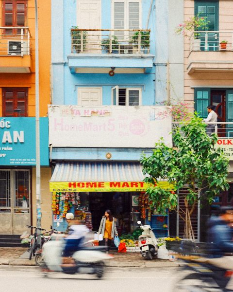 The hustle and bustle of Hanoi, Vietnam