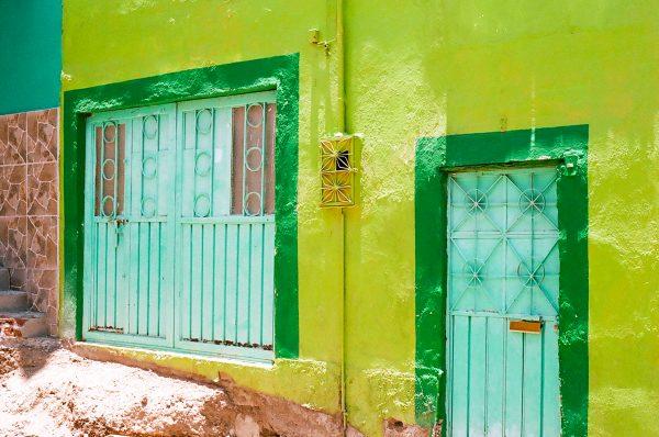 Bright colors in San Miguel de Allende, Mexico
