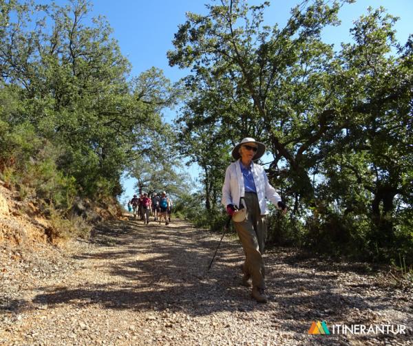 A hiker at Itinerantur