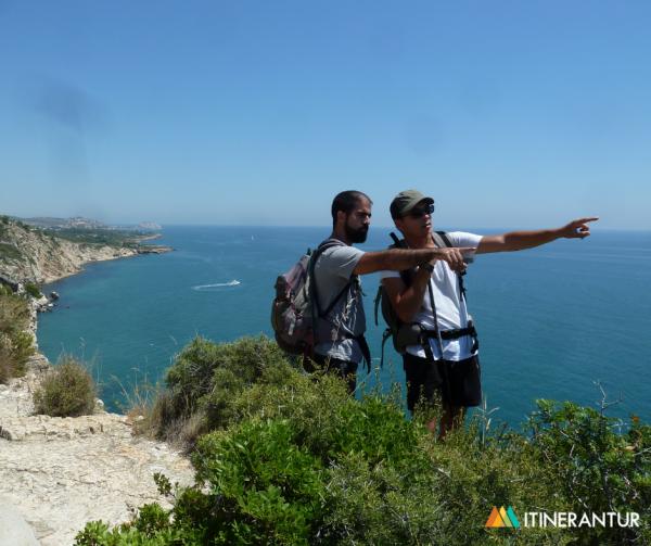 Hiking with Itinerantur's Chema Rabasa
