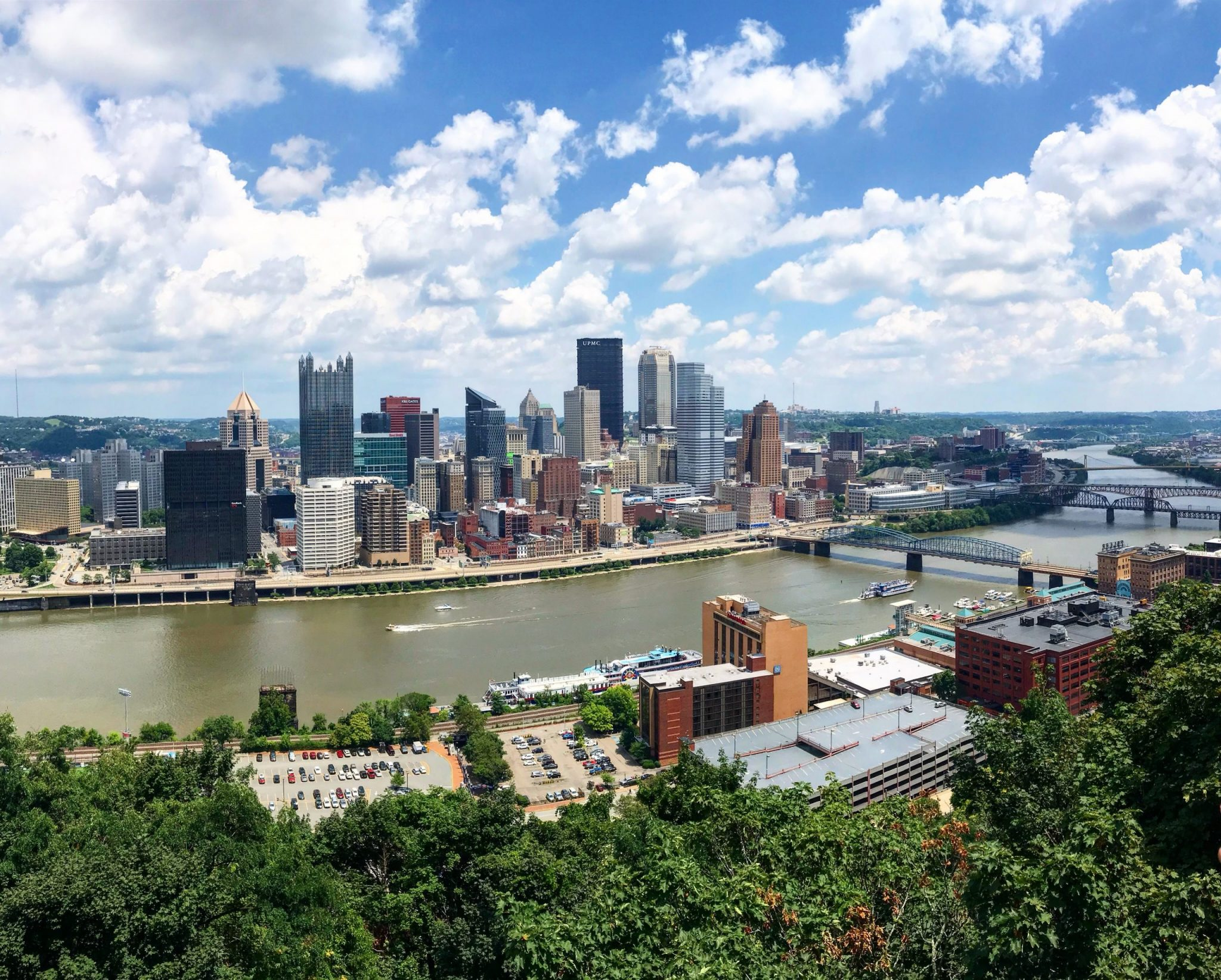 Make sure to catch a glimpse of the skyline when exploring things to do in Pittsburgh.
