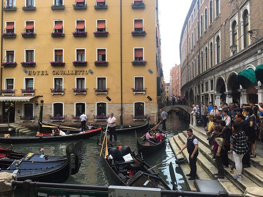 A Day in Venice Italy