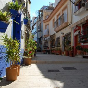 A peaceful street in Alicante