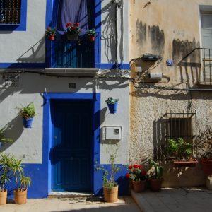 Bright colors in Alicante