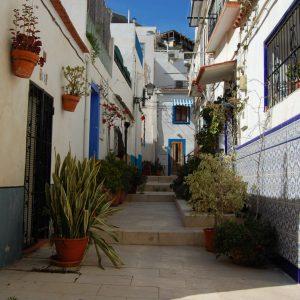A quiet street in Alicante