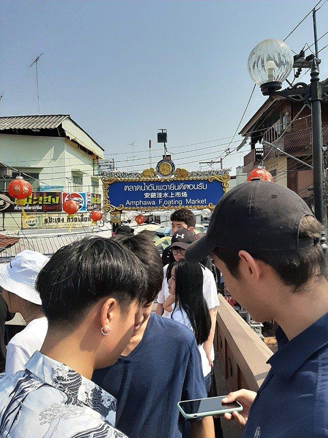 Visiting the Amphawa Floating Market