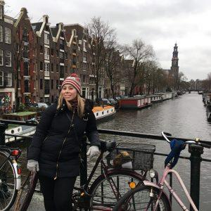 Kristen in Amsterdam