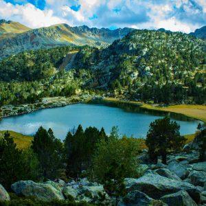 A lake at Andorra.