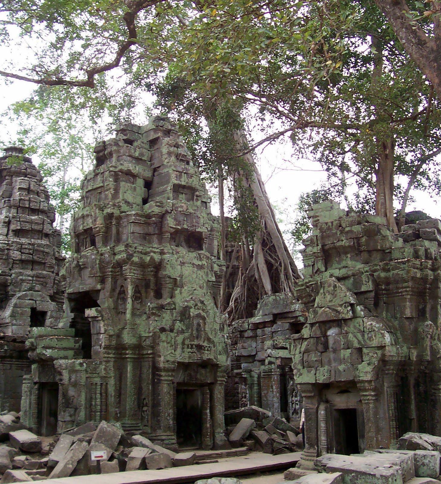 A photo of Angkor Wat