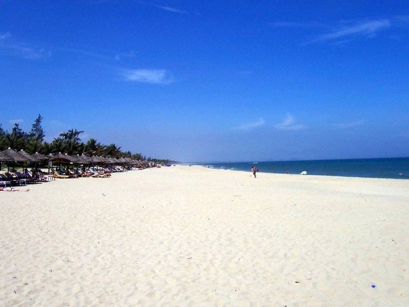 The beach in Vietnam