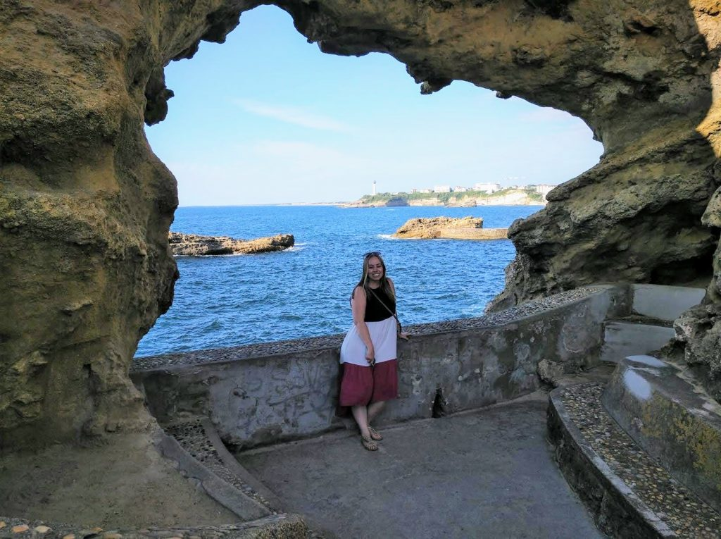 Kristen in Biarritz