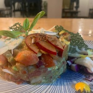 Bite the World's fake tartare is sure to please both vegans and non-vegans alike in this can't-miss stop in the vegan Canary Islands Guide!